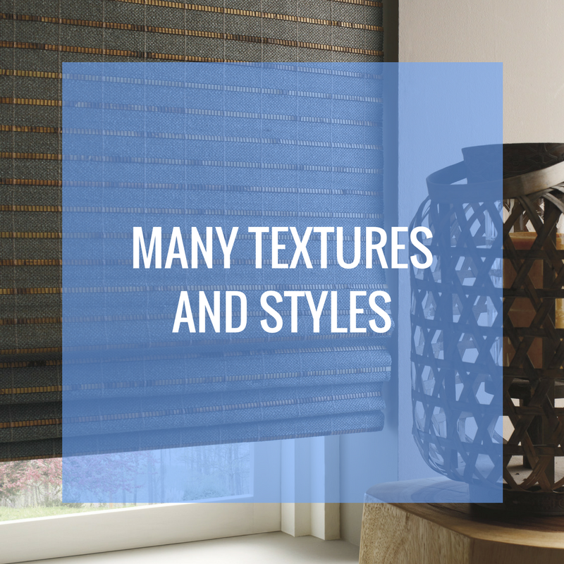 many textures and styles