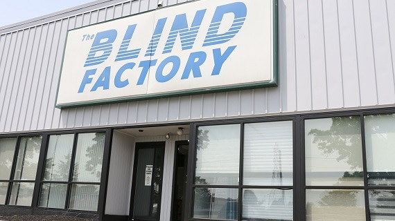 The Blind Factory front of building